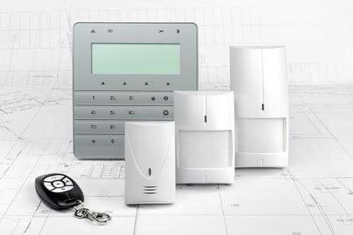 Centrale d'alarme pour appartement