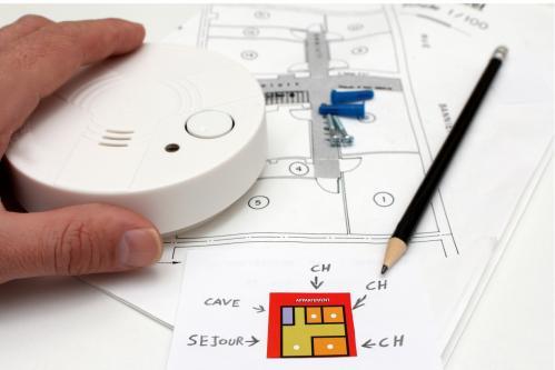 Alarme incendie ou installer le detecteur de fumee