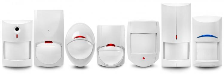 Exemple de différents modèles d'alarme en kit