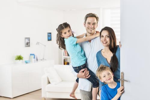 Famille en sécurité